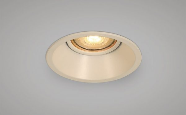Recessed antiglare main voltage downlight