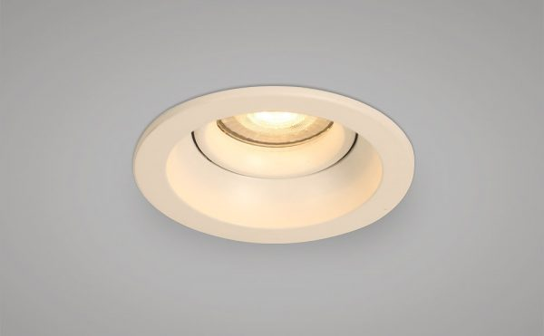 main voltage antiglare recessed downlight