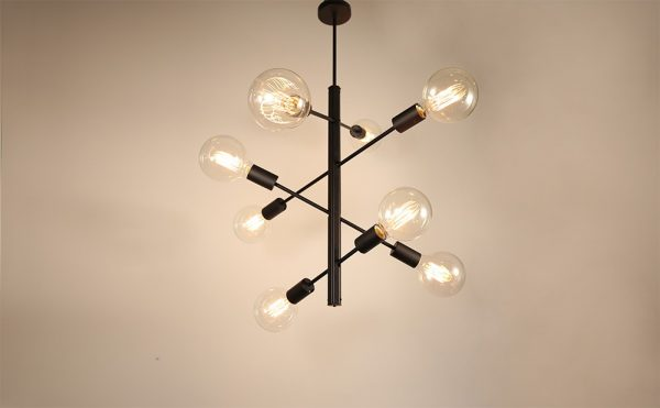 4-arm 8 Lights modern pendant light