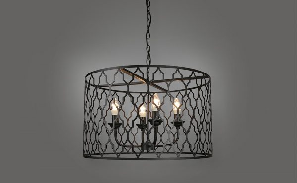 contemporary laser cut pendant light