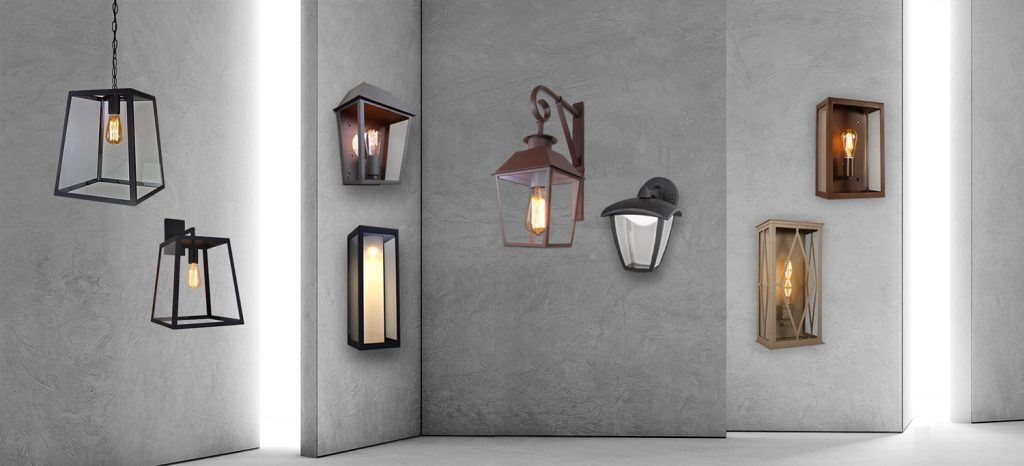 ADA RANGE of OUTDOOR LANTERNS
