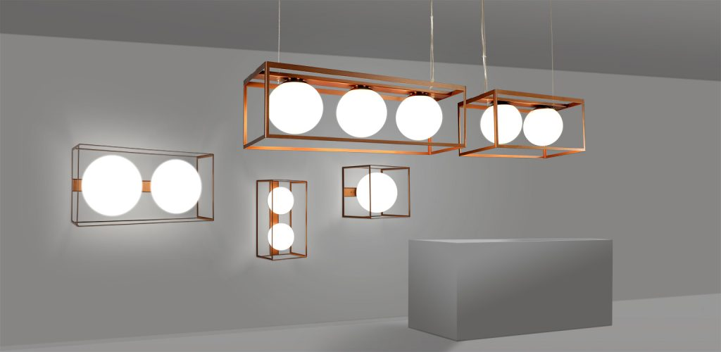 QUBO RANGE - minimalist lighting collection