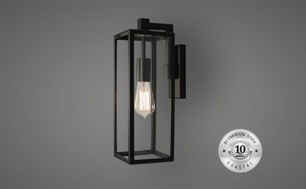 Allegro outdoor wall suspended lantern light