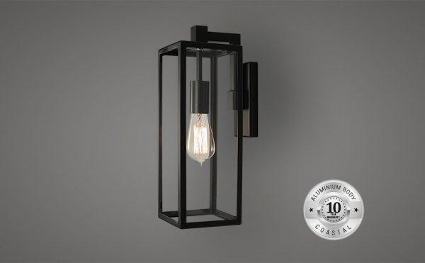 Allegro outdoor wall suspended lantern light